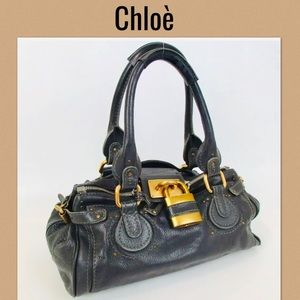 Chloe Shoulder bag handbag leather tote bag
